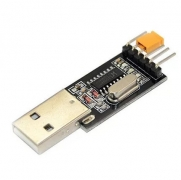 Конвертер USB-to-TTL (RS232), 3.3/5V на базе CH340